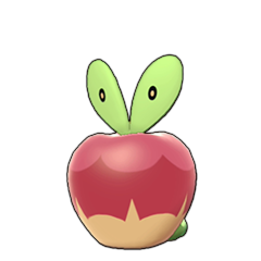 Sprite of Applin in Pokémon Sword/Shield