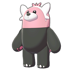 Sprite of Bewear in Pokémon Sword/Shield