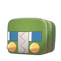 Sprite of Charjabug in Pokémon Sword/Shield