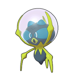 Sprite of Dewpider in Pokémon Sword/Shield