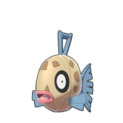 Sprite of Feebas in Pokémon Sword/Shield