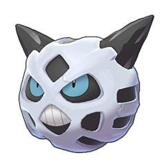 Sprite of Glalie in Pokémon Sword/Shield