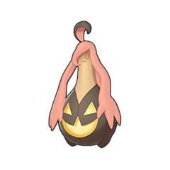 Sprite of Gourgeist in Pokémon Sword/Shield