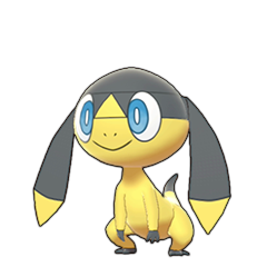 Sprite of Helioptile in Pokémon Sword/Shield