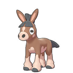 Sprite of Mudbray in Pokémon Sword/Shield