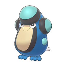 Sprite of Palpitoad in Pokémon Sword/Shield