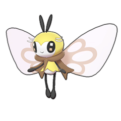 Sprite of Ribombee in Pokémon Sword/Shield