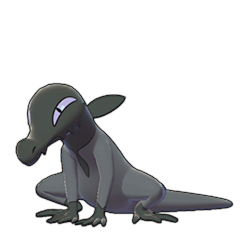 Sprite of Salandit in Pokémon Sword/Shield