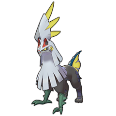 Sprite of Silvally (Electric) in Pokémon Sword/Shield