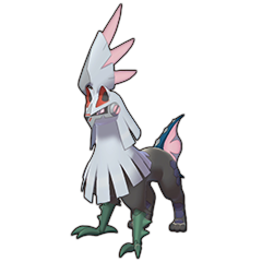 Sprite of Silvally (Fairy) in Pokémon Sword/Shield