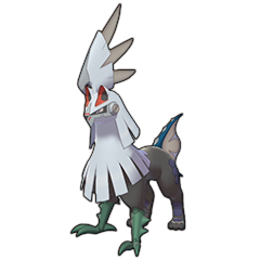 Sprite of Silvally (Rock) in Pokémon Sword/Shield