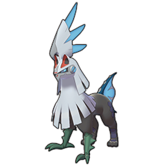 Sprite of Silvally (Water) in Pokémon Sword/Shield