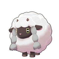 Sprite of Wooloo in Pokémon Sword/Shield