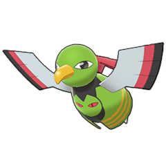 Sprite of Xatu in Pokémon Sword/Shield