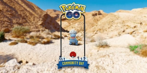 Bagon for Community Day in Pokémon GO