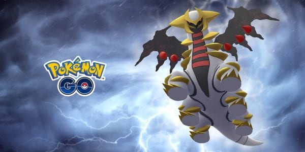 Giratina's Altered Forme in Pokémon GO