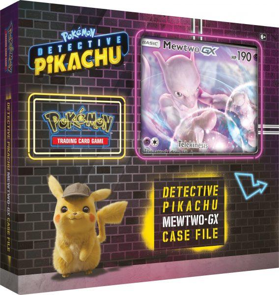 Detective Pikachu Mewtwo-GX Case File Box