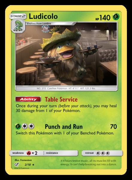 Ludicolo TCG Card