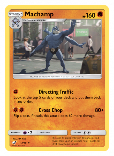 Machamp TCG Card