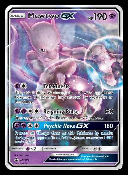 Mewtwo-GX TCG Card