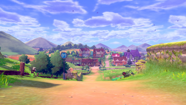 A look at Route 1, in a rural location.