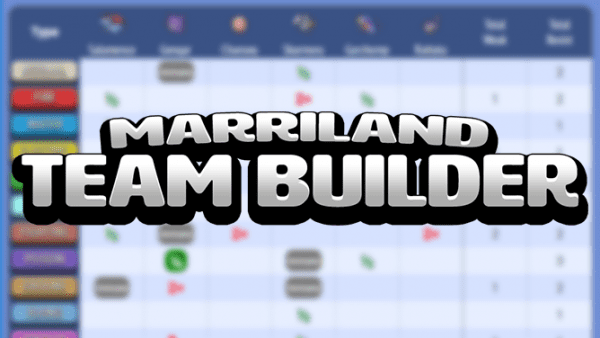 Marriland Team Builder