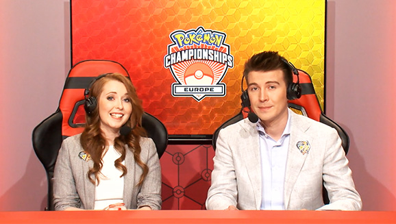 Stream team for the Pokémon Europe International Championships