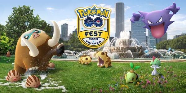 Pokémon GO Fest 2019 Chicago Banner