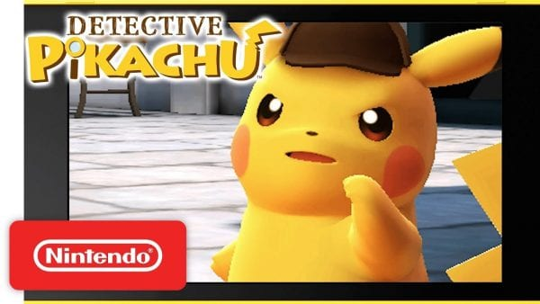 Thumbnail from one of the trailers for the Detective Pikachu 3DS Game