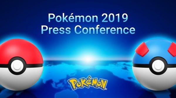 Pokémon 2019 Press Conference Banner