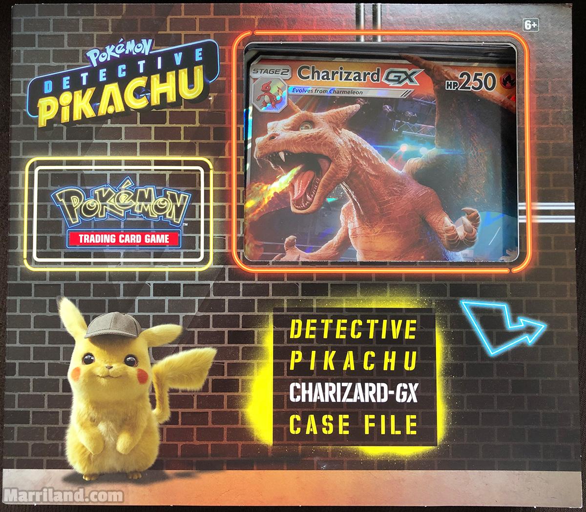 Pokemon Tcg Detective Pikachu Charizard Gx Case File Review