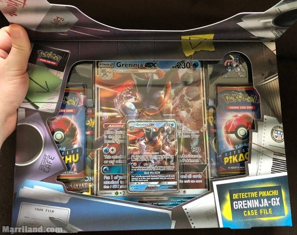 Inside of the Greninja-GX Case File