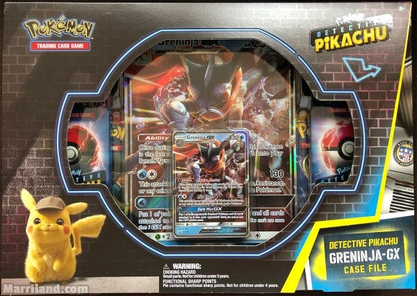 Outside view of the Greninja-GX Case File.