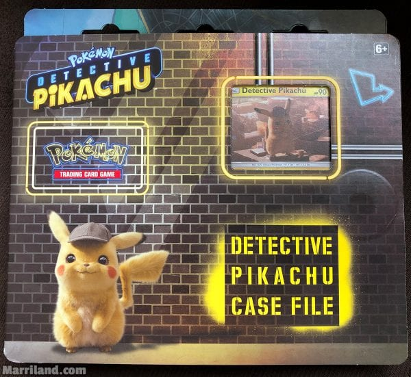 Detective Pikachu Case File outer box