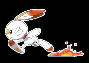 Scorbunny running super fast