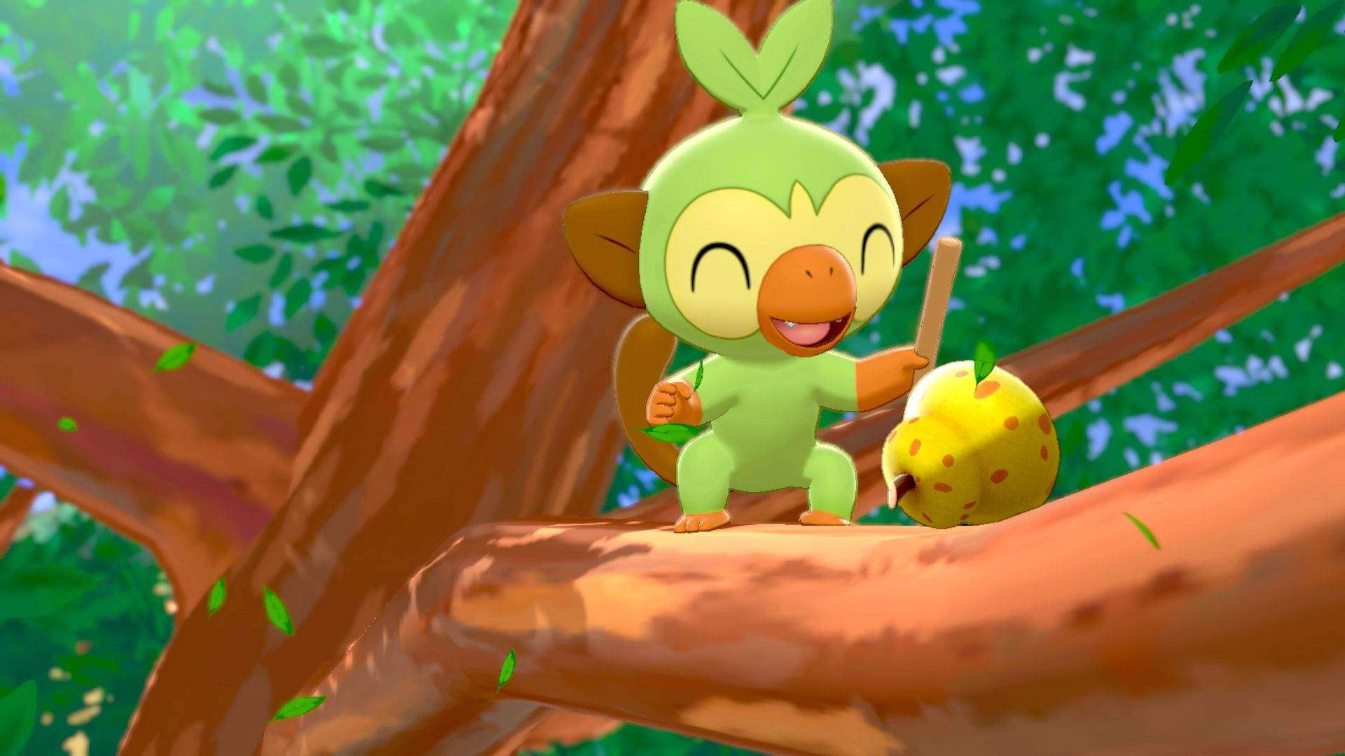 Grookey Pokemon Sword Shield Marriland Com Check out our grookey selection for the very best in unique or custom, handmade pieces from our shops. grookey pokemon sword shield