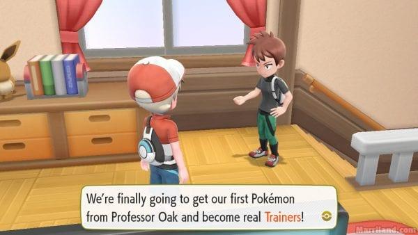 Pallet Town • Pokémon Let's Go Pikachu & Eevee Walkthrough