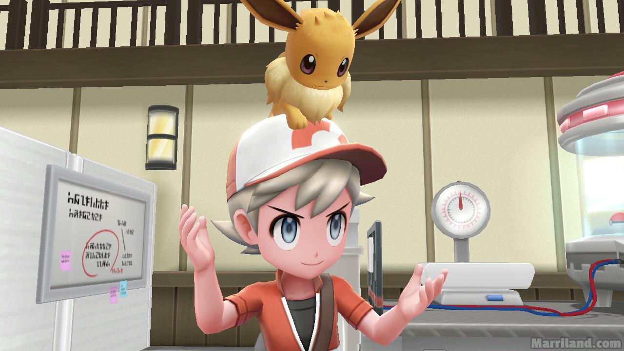 Pallet Town (2nd Visit) • Pokémon Let's Go Pikachu & Eevee
