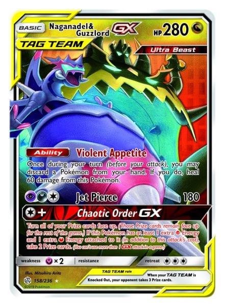 Naganadel & Guzzlord-GX Card