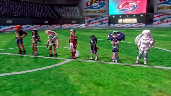 Gym Leaders in Pokémon Shield