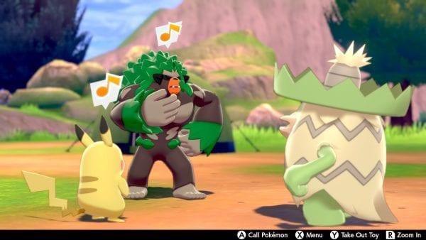 Rillaboom in Pokémon Camp