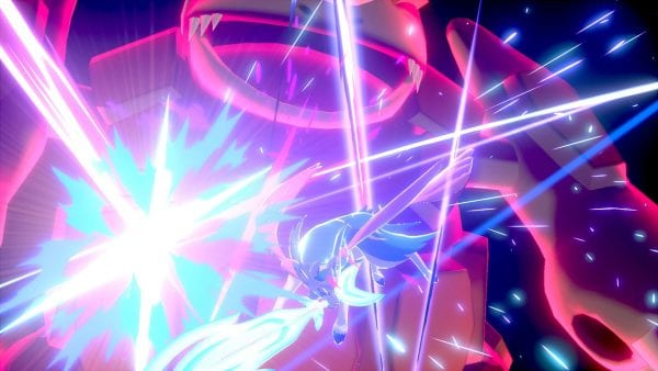 Zacian using Behemoth Blade