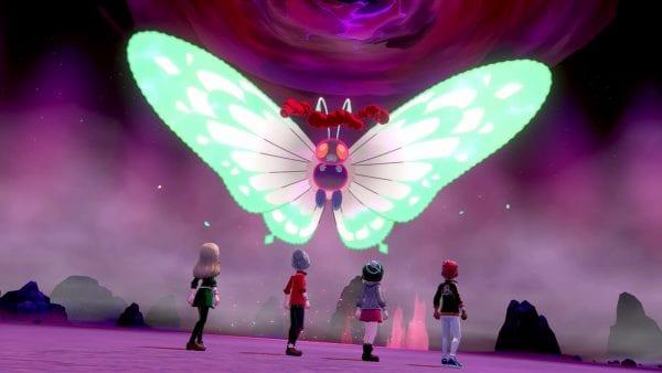 Battle Against Gigantamax Butterfree