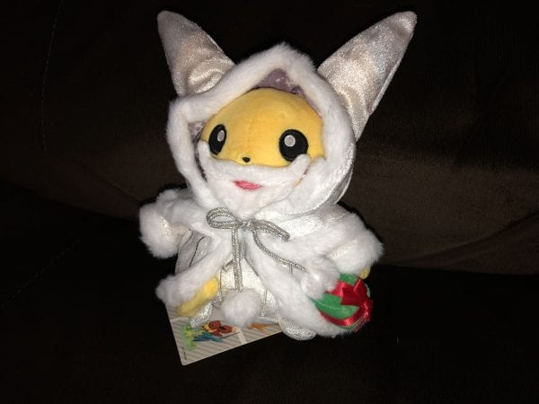 Holiday Lights Pikachu Plush
