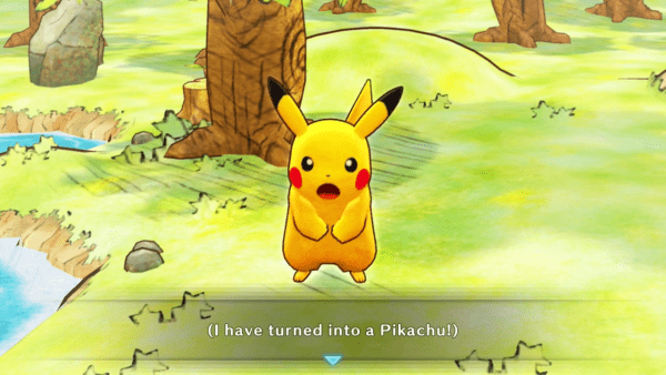 I've turned into a Pikachu!