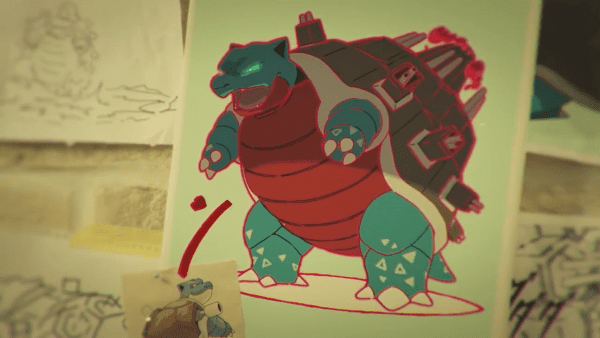 Gigantamax Blastoise Concept Art
