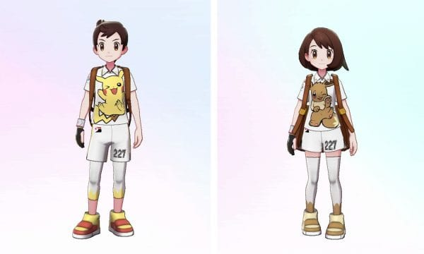 Pikachu and Eevee Clothes