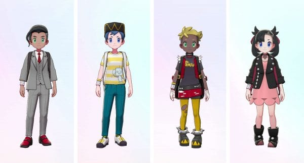 New Outfits of Familiar Characters