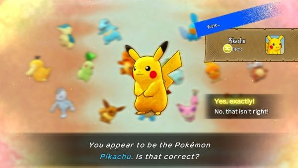 """""""You appear to be the Pokémon Pikachu. Is that correct?"""""""
