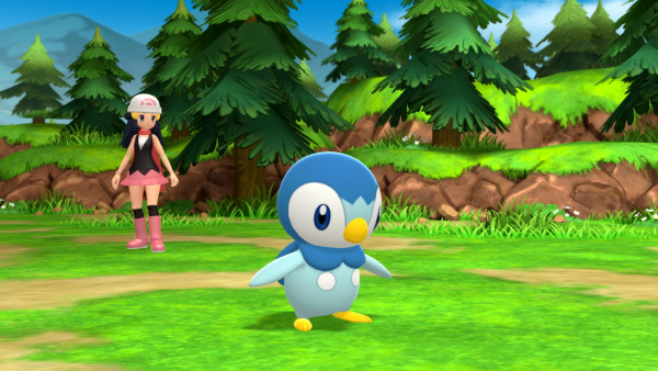Piplup in battle again